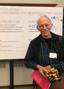 andrews, mentor award, UW research conference