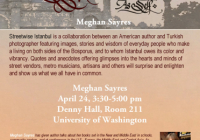 Meghan Sayres, Streetwise Istanbul Turkish and Ottoman Studies Program